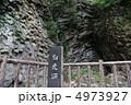 玄武洞公園の柱状節理(兵庫県豊岡市) 4973927