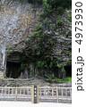 玄武洞公園の柱状節理(兵庫県豊岡市) 4973930