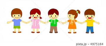 手をつなぐ 仲良し 友達 つなぐ ... : 羊 子供 : 子供
