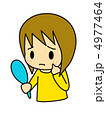 ニキビに困る女性 4977464
