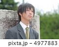 制服姿の男子高校生 4977883