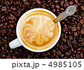 カプチーノ カップチーノ 飲物の写真 4985105