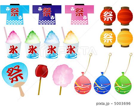 お祭りイラスト素材のイラスト素材 5003696 Pixta