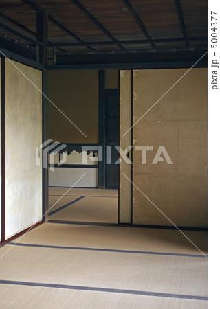 桂離宮 笑意軒 襖の引き手 櫂 5004377