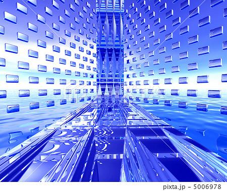 cg 異次元空間のイラスト素材