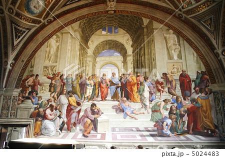 アテネの学堂 ラファエロ 5024483