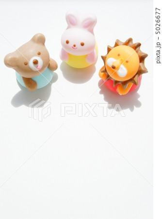 シュガークラフトの動物の写真素材 [5026677] - PIXTA