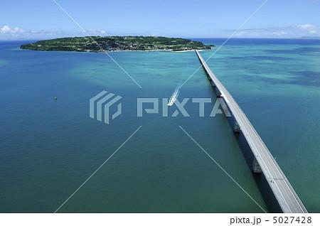 【航空写真】沖縄古宇利大橋 5027428
