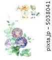 花 朝顔 アサガオのイラスト 5038041