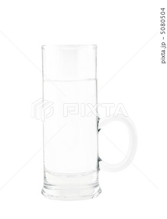 Glass of fresh and clear waterの写真素材 [5080504] - PIXTA