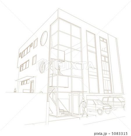 建物外観パース