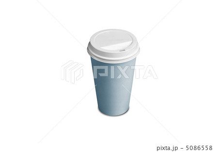 Paper Coffee Cup isolatedの写真素材 [5086558] - PIXTA