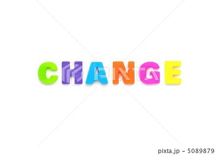 アルファベット CHANGE 5089879