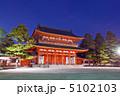 應天門 神門 応天門の写真 5102103