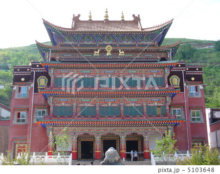 青海省西寧 タール寺の写真素材 ...