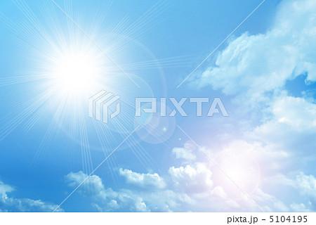 眩しい太陽(写真加工) 5104195