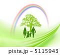 家族 木 虹のイラスト 5115943