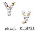 花柄 Y 花のイラスト 5116728