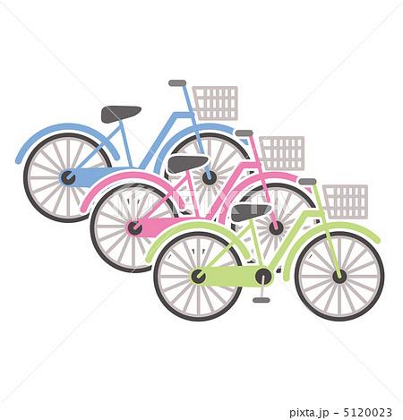 自転車のイラスト素材 5120023 Pixta