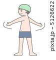 準備運動 子ども 男の子のイラスト 5126622