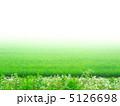 霧と水田の素材 (横カット) 5126698