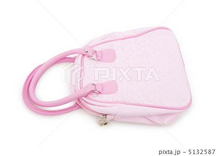 Woman bag isolated on the white backgroundの写真素材 [5132587] - PIXTA