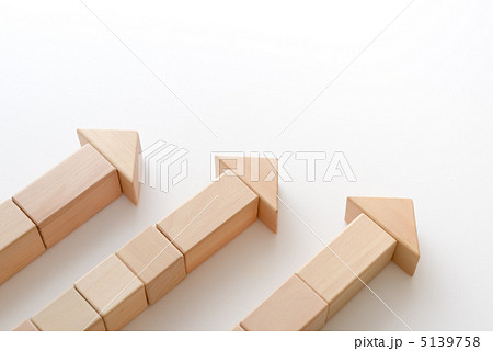 積み木のベクトル(同一方向)の写真素材 [5139758] - PIXTA