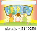 人形劇と子供たち(ヨコ) 5140259