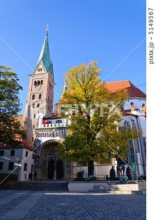 写真素材: ドイツ アウクスブルク大聖堂