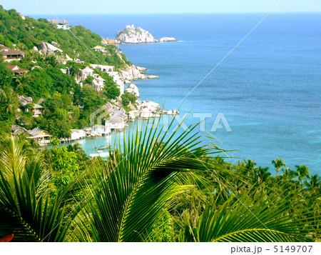 タイ タオ島の風景 5149707