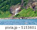 カムイワッカ カムイワッカの滝 カムイワッカ滝の写真 5153601