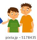 思いやる 男児 子どものイラスト 5178435