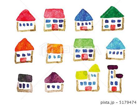 家のイラストのイラスト素材 5179474 Pixta