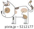 キャット 三毛猫 動物のイラスト 5212177