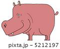 河馬 草食動物 動物のイラスト 5212197