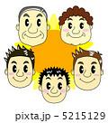 親 核家族 家庭のイラスト 5215129