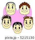 親 核家族 家庭のイラスト 5215130