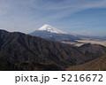 愛鷹山からの富士山 5216672