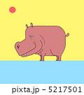 河馬 草食動物 動物のイラスト 5217501