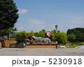 ライオンのオブジェ 花のオブジェ オブジェの写真 5230918