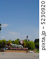 ライオンのオブジェ 花のオブジェ オブジェの写真 5230920