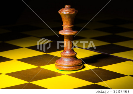 Chess concept with various piecesの写真素材 [5237463] - PIXTA