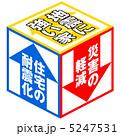 耐震化 耐震設計 耐震補強のイラスト 5247531