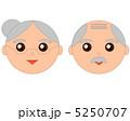 おじいちゃん おばあちゃん おじいさんのイラスト 5250707