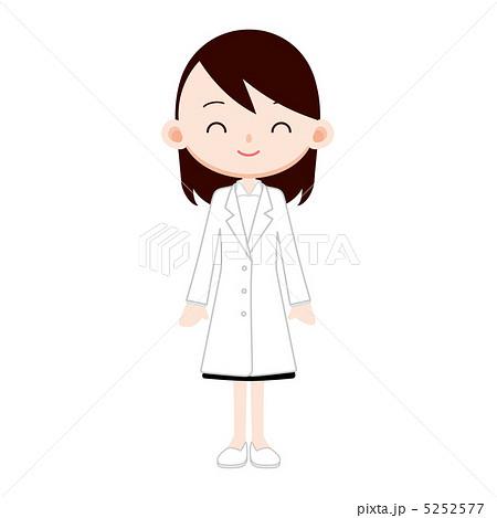 保健室の先生のイラスト素材 5252577 Pixta