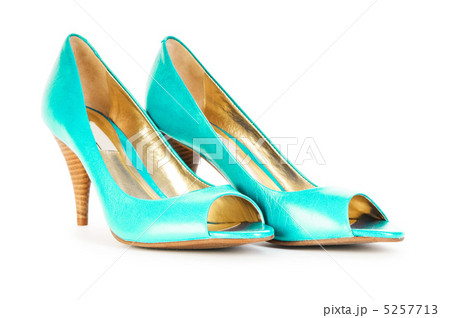 Female shoes in fashion conceptの写真素材 [5257713] - PIXTA