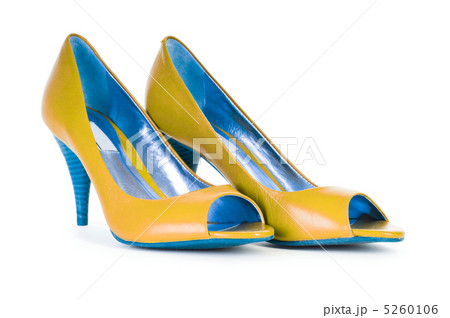 Female shoes in fashion conceptの写真素材 [5260106] - PIXTA