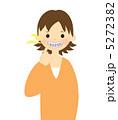 歯列矯正中の女性 5272382