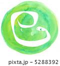 巳 へび 蛇のイラスト 5288392