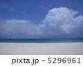 青い海に浮かぶ入道雲 5296961